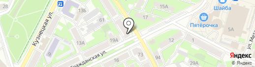 Антикризисный магазин на карте Пскова