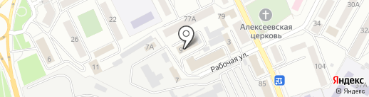 Псковская таможня на карте Пскова