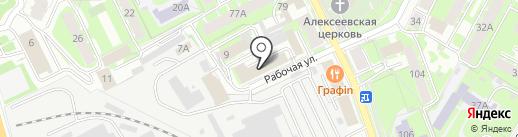 Псковрегионтеплоэнерго на карте Пскова