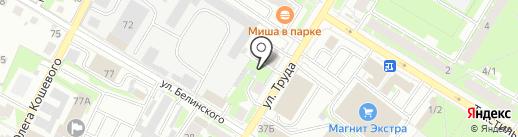 Магазин пультов на карте Пскова