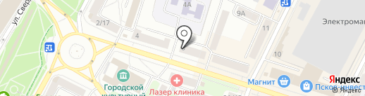 ПсковГеоКадастр на карте Пскова