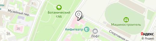 Псковский областной центр по профилактике и борьбе со СПИДом и инфекционными заболеваниями на карте Пскова