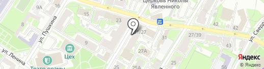 Just Smoke на карте Пскова
