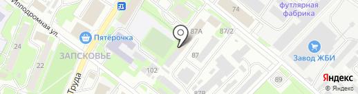 Отделение полиции №2 на карте Пскова
