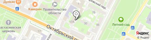 Псковская федерация тхэквондо на карте Пскова