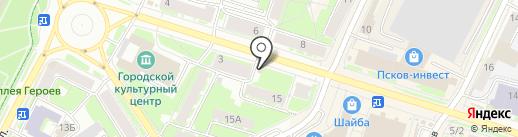 Все для ремонта на карте Пскова