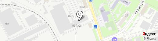 Столовая на карте Пскова
