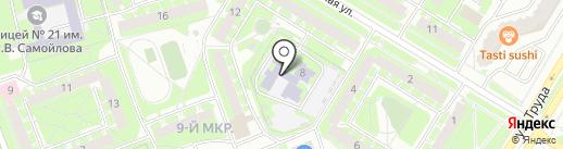 Детский сад №43 на карте Пскова