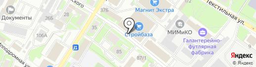 ИнвестСтрой на карте Пскова