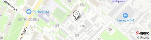 КОВКА на карте Пскова