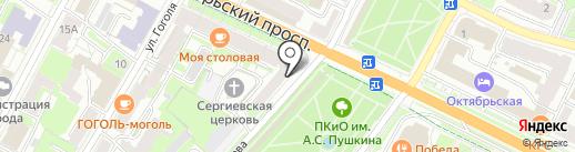 Fabric Cafe на карте Пскова