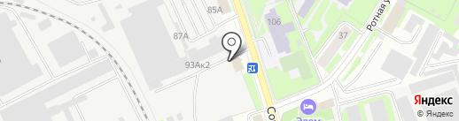 ИТЕЛ-АВТО на карте Пскова
