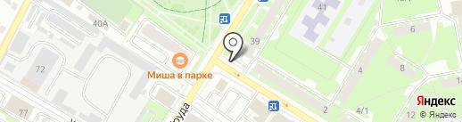 Тямша на карте Пскова