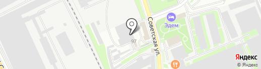 Мастерская по изготовлению памятников на карте Пскова