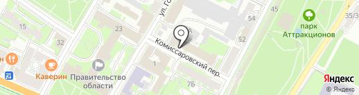 Дежурная часть на карте Пскова