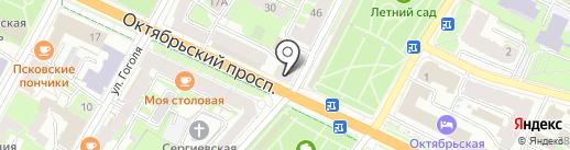 Подарки на карте Пскова
