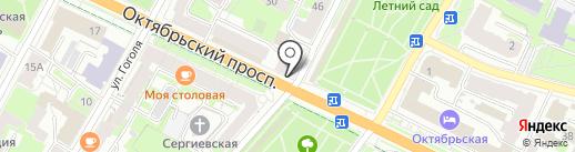 Ловись рыбка на карте Пскова