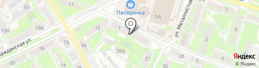 Скат на карте Пскова