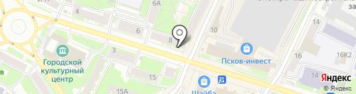 Щедрость богов на карте Пскова
