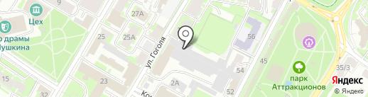 Коминформ на карте Пскова