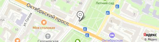 Профи Travel на карте Пскова