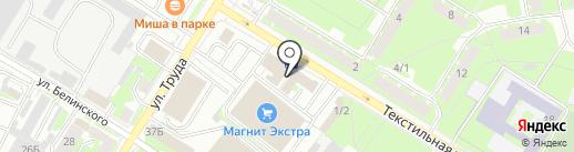Птицефабрика Псковская на карте Пскова