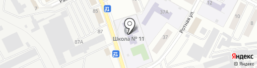 Избирательный участок №7 на карте Пскова