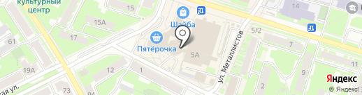 Мясной Дом на карте Пскова