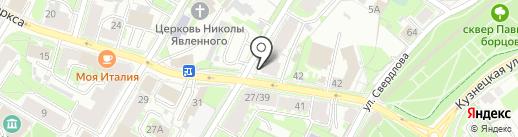 Галерея мебели и света на карте Пскова