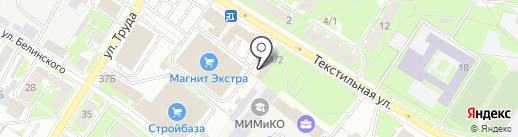 Магазин пиротехнической продукции на карте Пскова