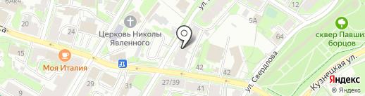 Автозапчасти для иномарок на ул. Гоголя на карте Пскова