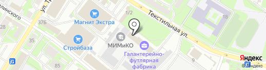 Управление Министерства юстиции РФ по Псковской области на карте Пскова