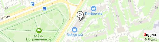 Магазин детской одежды и игрушек на ул. Труда на карте Пскова