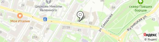 Тёплый мир на карте Пскова