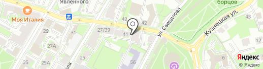 Клининг СОЮЗ на карте Пскова