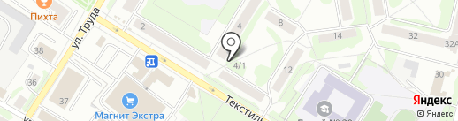 Магазин домашнего текстиля на карте Пскова