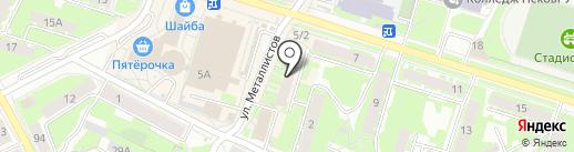АСК на карте Пскова