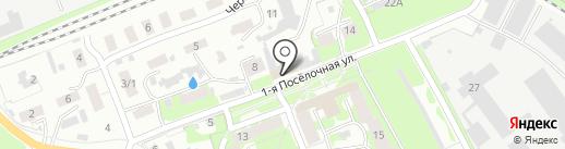 Техноцентр на карте Пскова