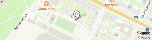 Impression на карте Пскова