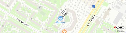 Дом рыбака на карте Пскова