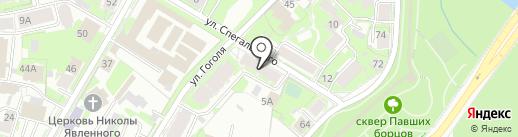 ЦЕНТР-СЕРВИС на карте Пскова