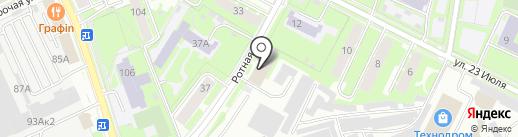 Областной архив ЗАГС на карте Пскова