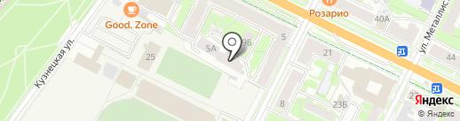 Магия Самоцветов на карте Пскова