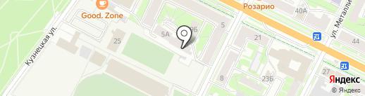 Созвездие на карте Пскова