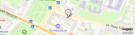 Kultura на карте Пскова