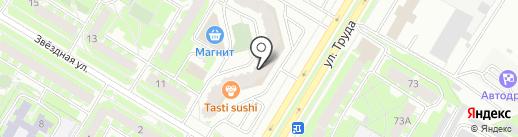 Банкомат, Промсвязьбанк на карте Пскова