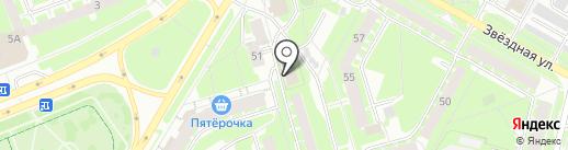 Немецкая химчистка на карте Пскова