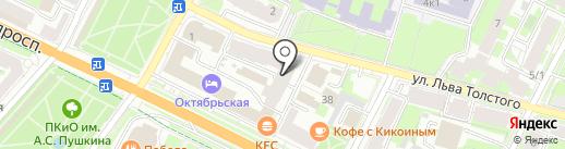 Алексеев и партнеры на карте Пскова