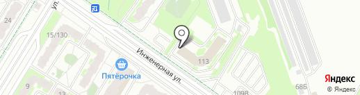 Пограничное Управление ФСБ России по Псковской области на карте Пскова