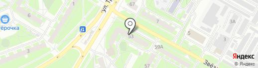 Магазин автосигнализации и комплектующих на карте Пскова